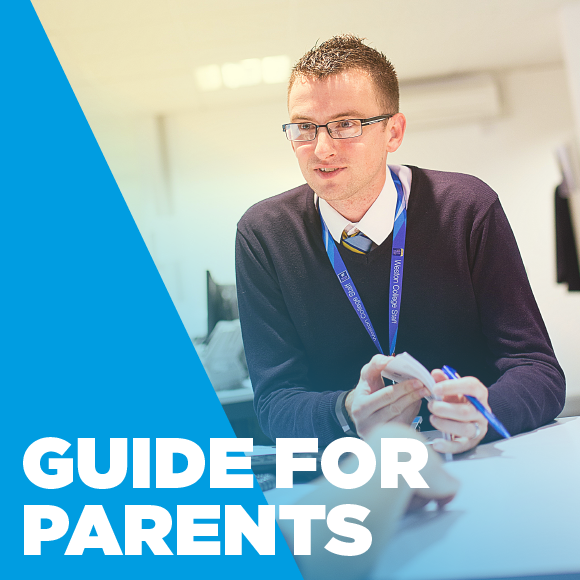 Weston College guide for parents