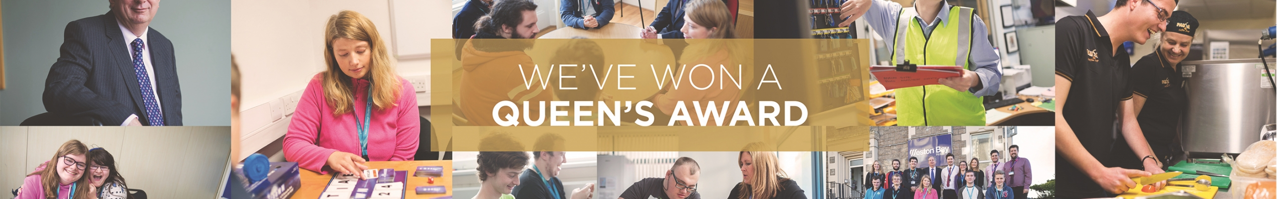 Weston College, Courses for Students with Learning Difficulties, Queen's Award