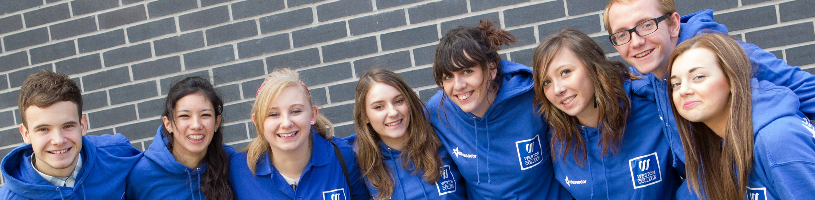 Weston College, Student Ambassadors, Further and Higher Education for 16-18 year olds