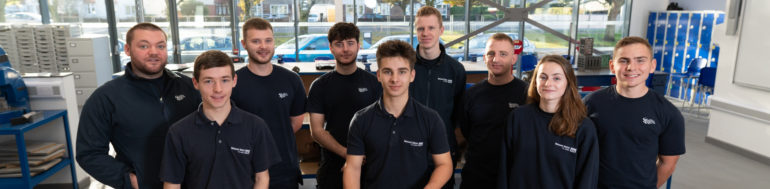 Weston College Students, Work Apprenticeships, Higher and Further Education
